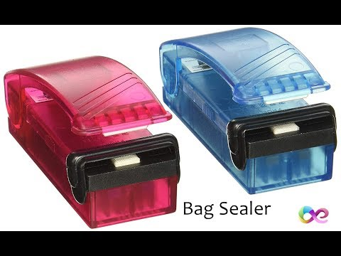 iTouchless Hand Sealer - The Old (Plastic) Bag Sealer