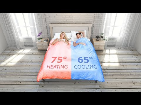 SMARTDUVET: The Dual Zone Climate-Controlled Self-Making Bed